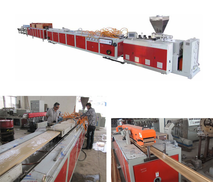 WPC-one-step-extrusion-line