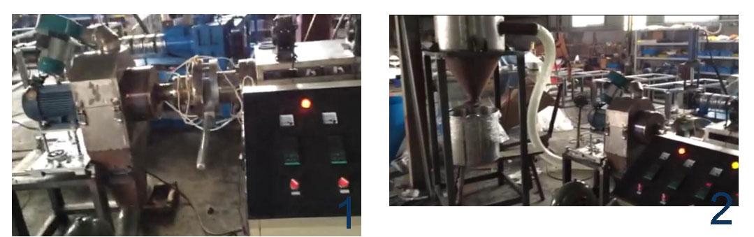 PVC-Plastic-granule-machine