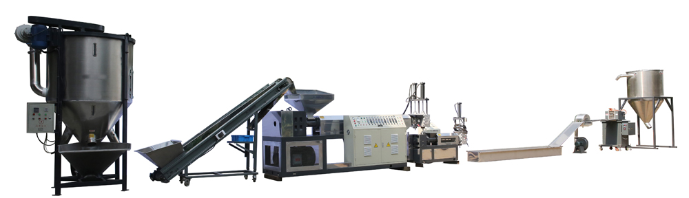 PET-Fiber-granules-making-line
