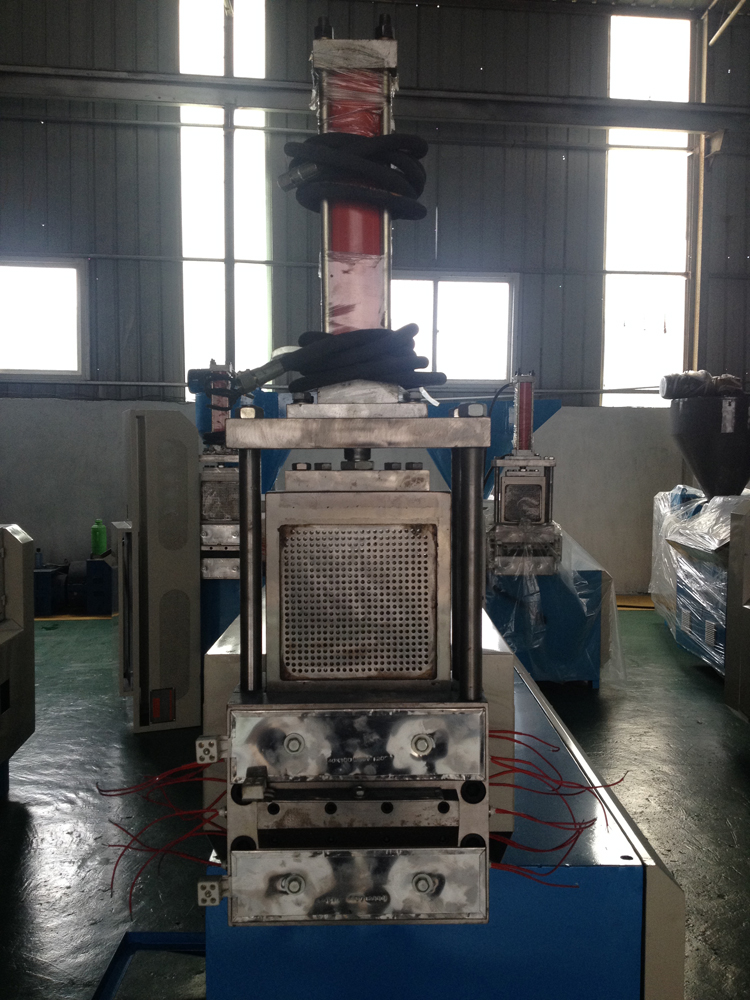 PE-Granules- Machine- with- Hydraulic- Screen Changer