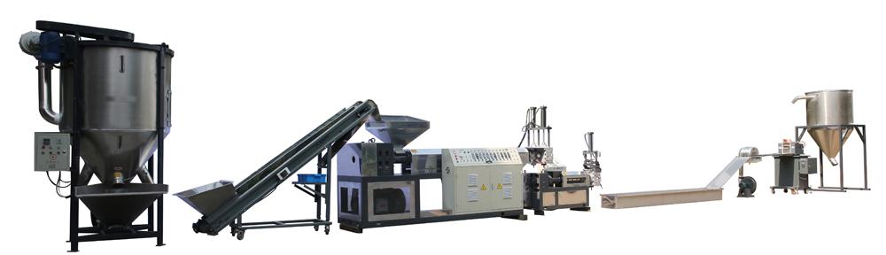 PET-Fiber-granules-making-line