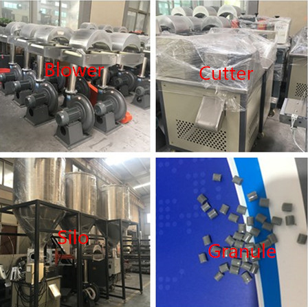 PET-Fiber-granules-pelletizing- machine