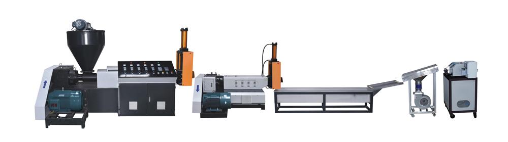 force-feeder--plastic- pelletizer- recycling- machine